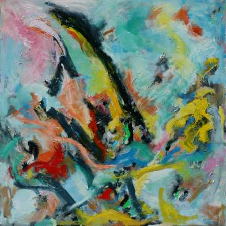 Abstract painting Cristian Valenzuela Montiglio #009