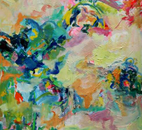 Abstract painting Cristian Valenzuela Montiglio #003