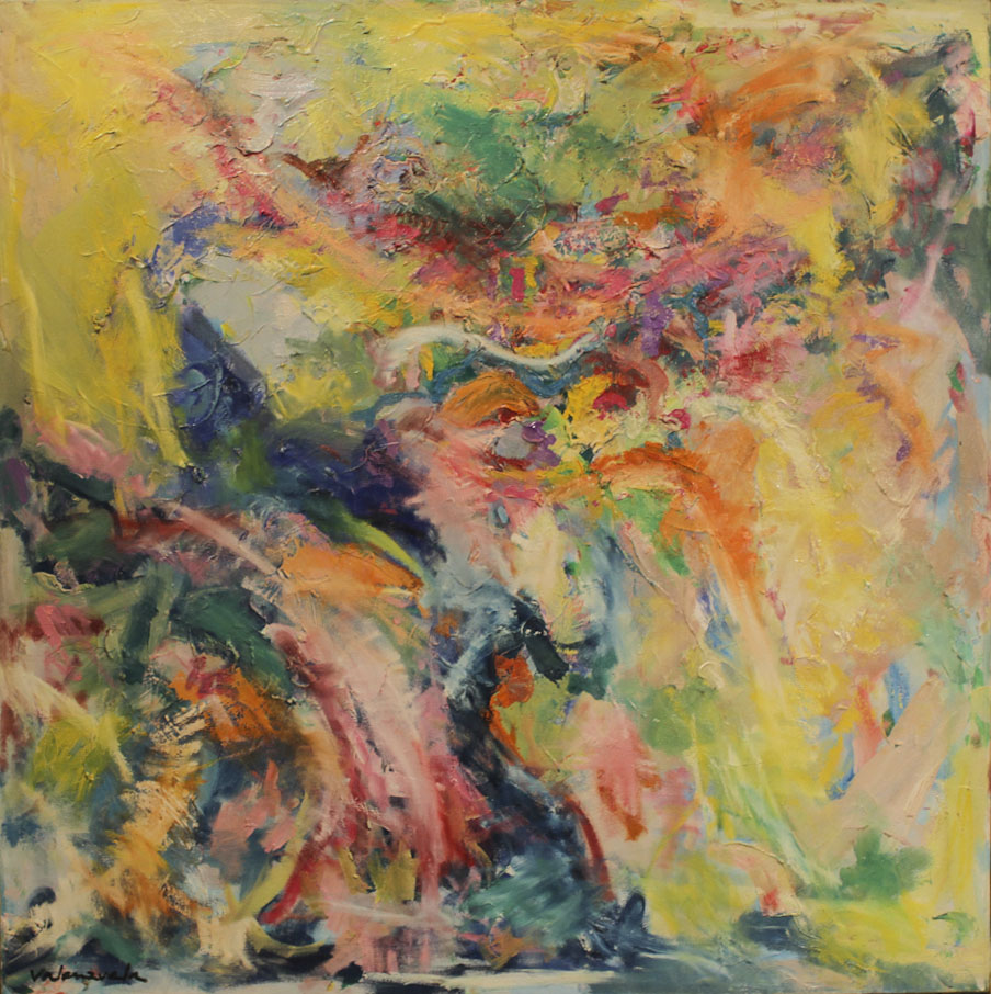 Abstract painting Cristian Valenzuela Montiglio #004